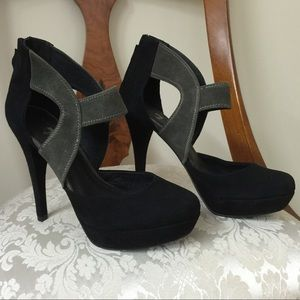 """7 For All Mankind 5"""" Suede Heels"""